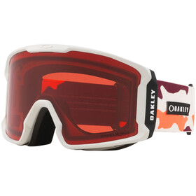 Oakley Line Miner Snow Goggles Herre orange/prizm rose